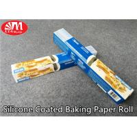 Quality Food Grade Silicone Treated Parchment Paper Virgin Wood Pulp Material Double Sides Coated wholesale