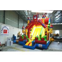 Quality Commercial inflatable bounce house with slide wholesale