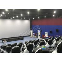 Quality Beautiful Decoration 5D Theater Chair With Many Leather And Fiberglass Seats For Choice wholesale