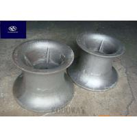 Quality High Precision Carbon Steel Casting Metal Parts With Black Galvanized / Powder Coating wholesale