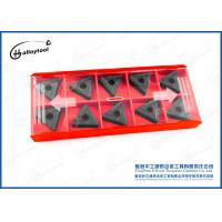 Quality Indexable Cemented Custom Carbide Inserts Cutting Tools For Cast Iron Roughing wholesale