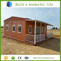 Quality low cost luxury cheap prefab a frame movable house modern kits designs for kenya wholesale