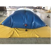 Quality Emergency Rescue Drought Resistance  PVC Tarpaulin Water Tank wholesale