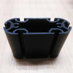 Quality Black Hard Anodize Extruded Aluminum Pole For Electronic Device wholesale