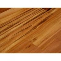 antique hand scraped teak color strong bamboo flooring