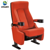 Quality Hot Selling Home Theater Seating Modern Design Cinema Chair With Cup Holder wholesale