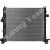 Quality Custom Cadillac Cross Flow Aluminum Truck Radiators Water Cooled DPI 13351 13349 wholesale