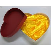 Cheap Heart Shaped Blister Paper Packing Box / Cardboard Packaging Boxes for sale