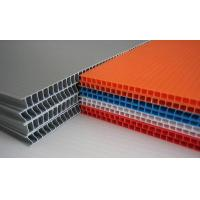 Buy cheap Grey / Orange / Green Flame Retardant PP Hollow Sheet For Floor Protection product