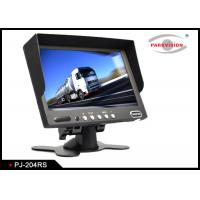 Quality Black Bus Monitoring System 16:9 Screen Type With Remote Control And OSD Menu wholesale