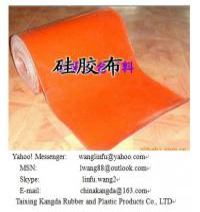 Quality hi-temperature silicone coated fiberglass fabric wholesale