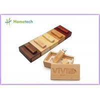 Quality Debossed Logo USB Wooden Memory Sticks 16GB For Company & Individual wholesale