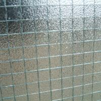 Quality 7mm Pattern Wire Reinforced Glass Decorative Wire Mesh Glass wholesale