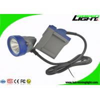 Quality Explosion Proof LED Mining Cap Lamp With 6.6Ah Rechargeable Li - Ion Battery wholesale