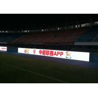 Quality P 6mm Football Stadium LED Display , Indoor perimeter advertising boards SMD3528 wholesale