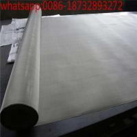 China nickel wire mesh cheap woven  mesh/80 20 wire nickel chrome wire mesh/270 mesh 205 nickel wire mesh screen on sale