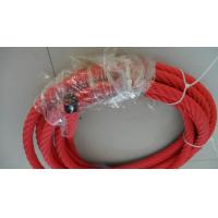 Buy cheap 6 Strands 16mm Red Playground  Combination rope-Multifilament Polypropylene Covered from wholesalers