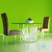 Cheap acrylic bar stools and table for sale