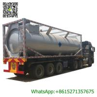 Quality 30ft Mobile LPG Gas Tank Container Gas Filling Station 30000L  LPG Gas Refilling Skid Plant Station wholesale