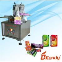 China Kd-pl-h100 Semi-automatic And Adjustable Tissue Box Packing Machine on sale