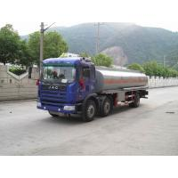 Quality JAC Mobile Refueling Oil Tank Truck 6x2 , Fule Oil Delivery Trucks 20000L wholesale