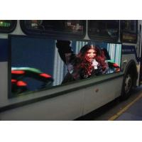 China Outdoor Waterproof LED Mobile Billboard 6mm Pixel Pitch For Bus Advertising on sale