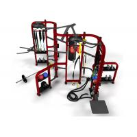 Quality Commercial 360 Gym Equipment Modular Unit Free Power Workstation Heavy Duty wholesale