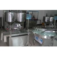 Quality 0 - 1000L Single Head / Double Heads Full Automatic Ointment Filling Machines wholesale