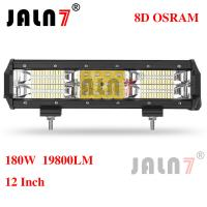 Quality 180W 19800LM OSRAM 12 INCH 8D LED LIGHT BAR JALN7 wholesale