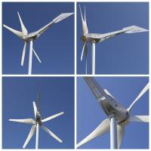 China 800W factory price horizontal five blades SKY wind turbine on sale