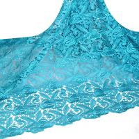 China 2015 New design african cupion lace fabrics african cord lace for evening party dresses on sale