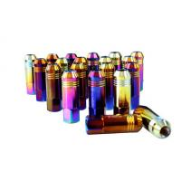 Quality Alloy / Carbon / Stainless Steel Auto Lug Nuts For Rims 60mm , 12 Months Warranty wholesale