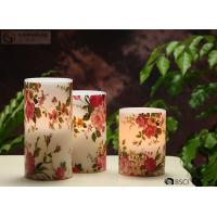 "Quality Rose Decorative Flickering Flameless Led Candles Dia 3"" x H 4"" wholesale"