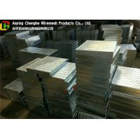 Quality Sidewalk Steel Flat Bar Grating , Drainage Hot Dip Galvanized Grating wholesale