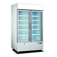 Buy cheap Supermarket Stand Up Glass Door Freezer With Anti Fog Door And LED Lighting from wholesalers