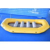 Quality 0.9mm PVC Tarpaulin Inflatable Rafting Boat For Sale wholesale
