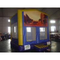 Quality Custom indoor Inflatable Sports Games , Bouncer Houses For Adults / Kids wholesale