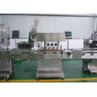 Quality High Speed Automatic Packaging Machine Automatic Capping Machine For Screw Type Pharma Bottle wholesale