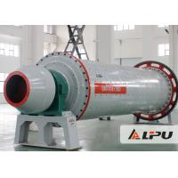 Cheap Durable Dry Type Mining Ball Mill 900x1800 , Semi Autogenous Grinding Mill for sale