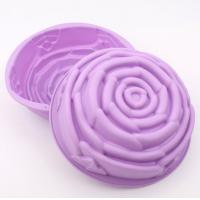 Cheap Medium Size Silicone bakingMolds , Cake Decorating Molds FDA Approved for sale