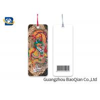 China Giveaway Gift / Premium 3D Effect Printing , Flipped Personalized Book Marks on sale