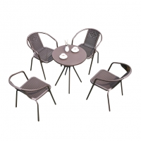 Buy cheap Bistro Patio Rattan Garden Outdoor Table And Chair Furniture Set from wholesalers