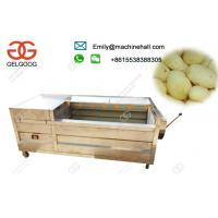 Cheap Electric Potato Peeling Machine High Efficiency Commercial Use /Automati Potato Peeling Machine Price In India for sale