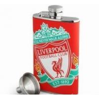 Quality Liverpool FC Leather Hip Flask wholesale