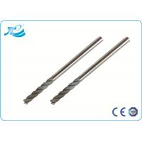Quality Micro Grain Carbide Material Solid Carbide End Mill with 45 Helix wholesale
