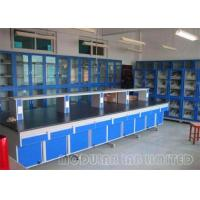 Quality Large Modular Laboratory Furniture With 304 SUS hinge / Steel Embedded Handle wholesale