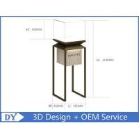 Quality Factory manufacturers  design museum showcase with stainless steel tempered glass led lights wholesale