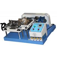 China Leather Testing Equipment , Crumpling Resistance Crocking Test Machine for Rubber Coated Fabrics JIS K 6328 on sale