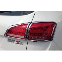 Quality Custom Auto Headlight Covers For JAC S5 2013 , Tail Lamp Chromed Frame wholesale