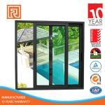Aluminum slider window/Aluminium double glazed windows and doors comply with